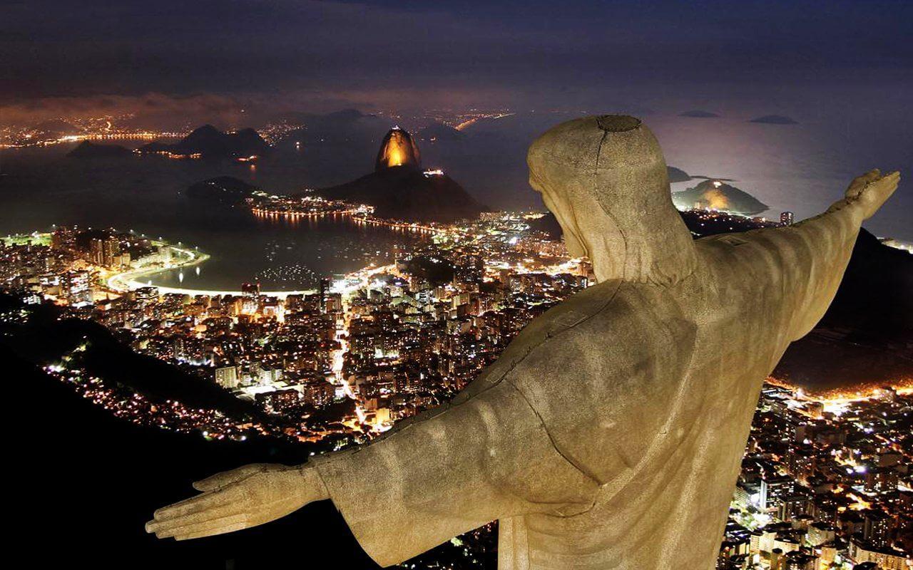 A riói Megváltó Krisztus szobor figyelmeztetett a szívbetegségekre