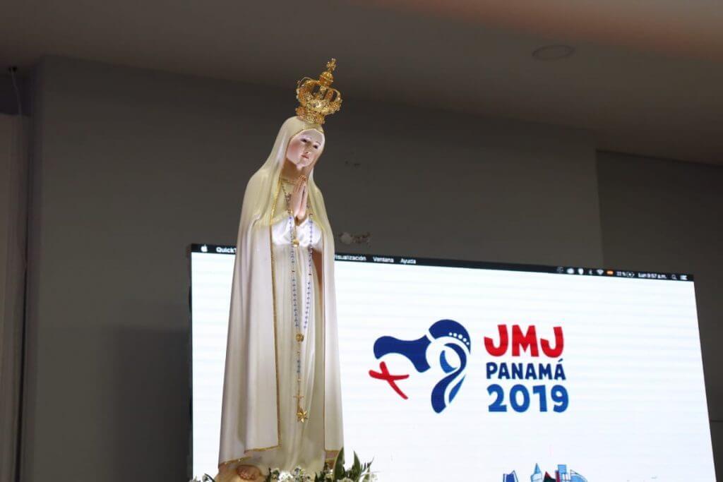 A fatimai kegyszobor Panamában
