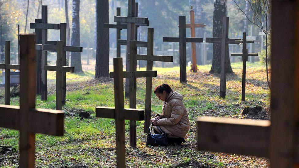 Fehérorosz katolikus és ortodox püspökök elítélik a kuropatyi keresztek ledózerolását